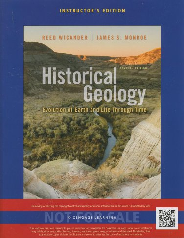 Historical Geology 7th INSTRUCTOR'S ED. 2013 Reed Wicander