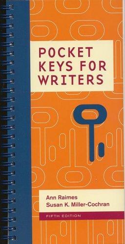 Pocket Keys for Writers 5th INSTRUCTOR'S REVIEW COPY 2016 Ann Raimes 5e fifth