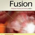 (NEW) Fusion Book 1, Enhanced Edition: Integrated Reading and Writing INSTRUCTOR