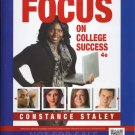 Focus on College Success, 4th ANNOTATED INSTRUCTOR'S EDITION 2015 Like New