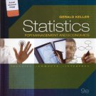 NEW - Statistics for Management and Economics 9th INSTRUCTOR'S EDITION 2012