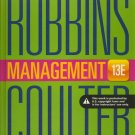 (NEW) Management 13th INSTRUCTOR'S EDITION 13e Robbins / Coulter thirteenth hardcover