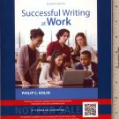 NEW - Successful Writing at Work 11th INSTRUCTOR'S EDITION, Philip Kolin