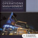 NEW Principles of Operations Management 9th INSTRUCTOR'S EDITION Heizer, Render