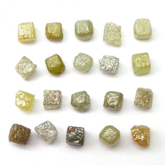10+ Carats 0.40-0.60 per carat ROUGH DIAMOND CUBES