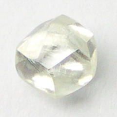 0.25+ Carats WHITE CUTTABLE GEM Uncut Rough Diamonds