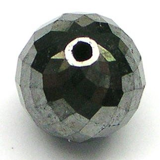 1.5+ Carat BLACK POLISHED Rough Cut Diamonds Beads