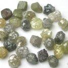 10+ Carat Natural Uncut  Rough Diamond Diamonds 1/3