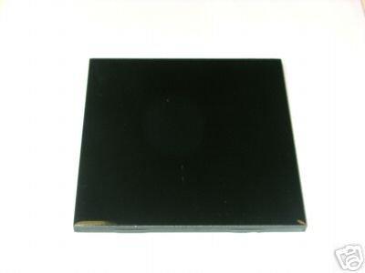 """4"""" x 4"""" Black Ceramic Tile"""