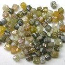 10+ Carats Uncut Natural Rough Cubic  Cube Diamonds .10