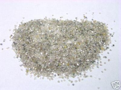 10+ Carats Natural Uncut Rough Diamond Diamonds Powder