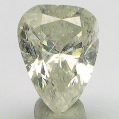 0.91 Carat PEAR SHAPE Tear drop Polished Diamonds