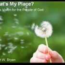 What's My Place? Paul's Vision for the People of God
