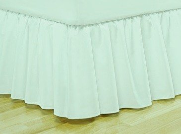 300TC Nile valley Bed skirt Egyptian Cotton Queen Sage Color