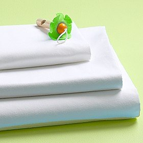 Flat sheet 500 thread counts Full size pure Egyptian cotton white