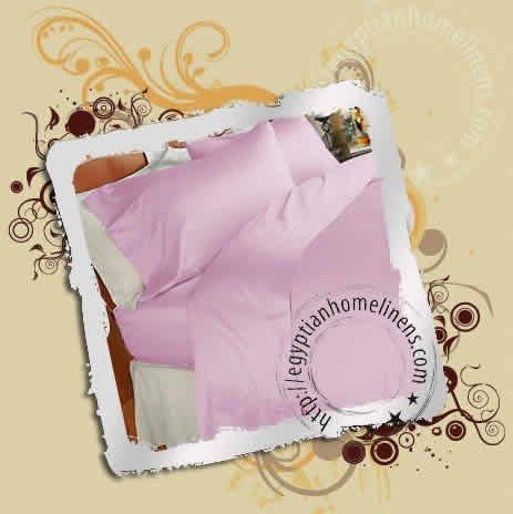 3PC Duvet Covers 1000-TC Egyptian Cotton Lavender