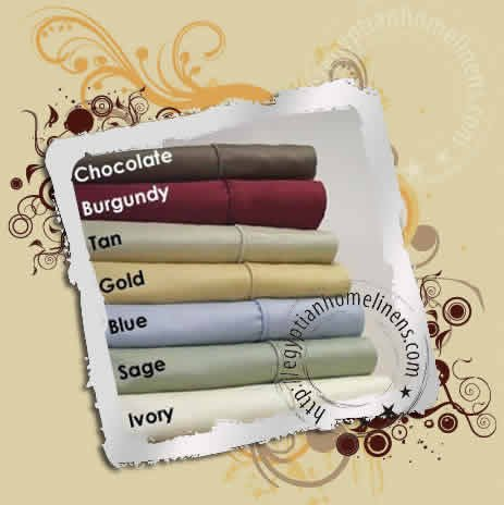 600-TC Queen Size Duvet Covers Egyptian Cotton Burgundy