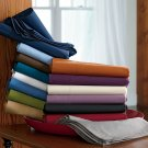 Red Fitted Sheet Twin-XL 1000-TC 21 Inches Deep Pocket