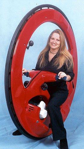 Gas Powered Wheel