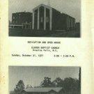 Dedication And Open House, Clover Baptist Church, Granite Falls, N.C...October 31, 1971