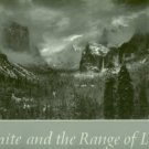 Adams, Ansel. Yosemite And The Range Of Light