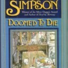 Simpson, Dorothy. Doomed To Die