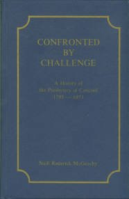 McGeachy, Neill R. Confronted By Challenge: A History Of The Presbytery Of Concord, 1795-1973