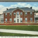 Linen Postcard. The Plonk School of Creative Arts, Asheville, N.C.