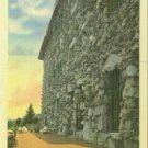 Linen Postcard. On the Front Terrace, Grove Park Inn, Asheville, N.C.