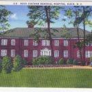 Linen Postcard. Hugh Chatham Memorial Hospital, Elkin, N.C.