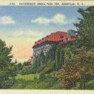 Linen Postcard. Picturesque Grove Park Inn, Asheville, N.C.