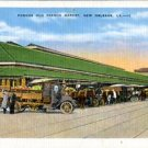 Linen Postcard. Famous Old French Market, New Orleans , LA