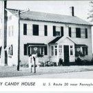 Photo Postcard. Peggy Gray Candy House, U.S. Route 20 near Pennsylvania-Ohio Line