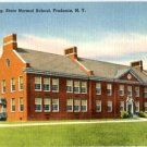 Linen Postcard. Music Building, State Normal School, Fredonia, N.Y.