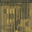 Dessoir, Max. Aesthetics And Theory Of Art [Asthetik Und Allgemeine Kunstwissenschaft]