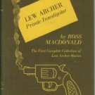 Macdonald, Ross. Lew Archer: Private Investigator