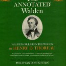 Thoreau, Henry D. The Annotated Walden. Walden; Or, Life In The Woods...