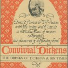 Hewett, Edward, and Axton, W. F. Convivial Dickens: The Drinks of Dickens and His Times