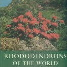 Leach, David G. Rhododendrons Of The World And How To Grow Them