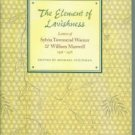 Warner, Sylvia Townsend. The Element Of Lavishness: Letters of Sylvia Townsend Warner...