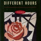 Dunn, Stephen. Different Hours: Poems