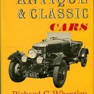 Wheatley, Richard C, and Morgan, Brian. The Restoration Of Antique And Classic Cars