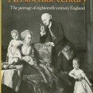 Cannon, John. Aristocratic Century: The Peerage Of Eighteenth-Century England