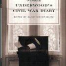 Underwood, Josie. Josie Underwood's Civil War Diary