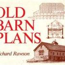 Rawson, Richard. Old Barn Plans