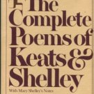 The Complete Poems Of John Keats And Percy Bysshe Shelley