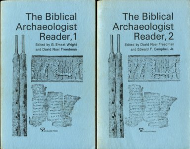 Freedman, David Noel, editor. The Biblical Archaeologist Reader, Volume I And Volume II