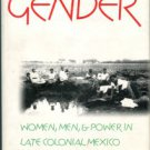Stern, Steve J. The Secret History Of Gender: Women, Men, And Power In Late Colonial Mexico