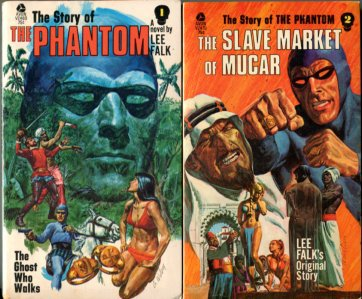 Falk, Lee. The Story Of The Phantom [with] The Slave Market Of Mucar