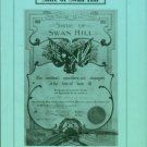 Scholes, Lesley. A History Of The Shire Of Swan Hill: Public Land, Private Profit And Settlement